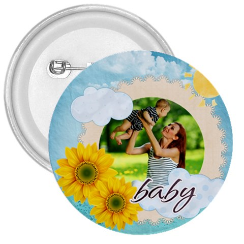 Summer By Summer Time    3  Button   3mltwlexocq4   Www Artscow Com Front