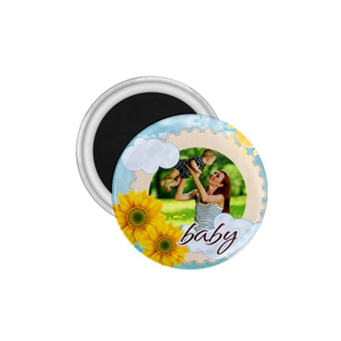 Summer By Summer Time    1 75  Magnet   6uxa75h7wrb2   Www Artscow Com Front