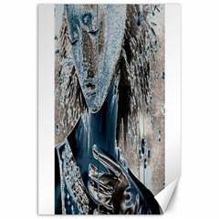 Feeling Blue Canvas 20  X 30  (unframed) by FunWithFibro