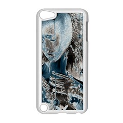Feeling Blue Apple Ipod Touch 5 Case (white) by FunWithFibro