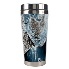 Feeling Blue Stainless Steel Travel Tumbler by FunWithFibro