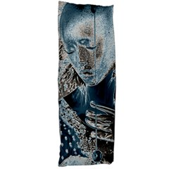 Feeling Blue Body Pillow (Dakimakura) Case (Two Sides) by FunWithFibro