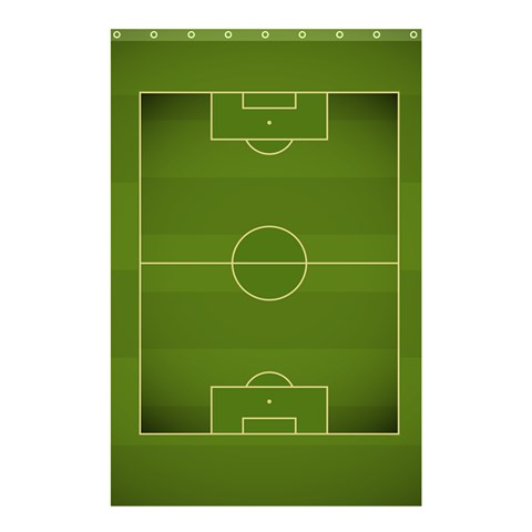 Football By X   Shower Curtain 48  X 72  (small)   Dpz0qsd2b85y   Www Artscow Com 42.18 x64.8 Curtain
