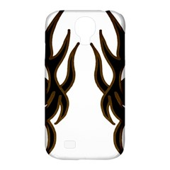 Dancing Fire Samsung Galaxy S4 Classic Hardshell Case (pc+silicone) by coolcow