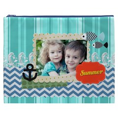 Summer By Summer Time    Cosmetic Bag (xxxl)   417ljt409xwm   Www Artscow Com Front