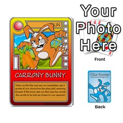 Ace Killer Bunnies By Lordofworms   Playing Cards 54 Designs   Zhpyux78a9lc   Www Artscow Com Front - DiamondA