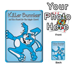 Killer Bunnies By Lordofworms   Playing Cards 54 Designs   Zhpyux78a9lc   Www Artscow Com Back