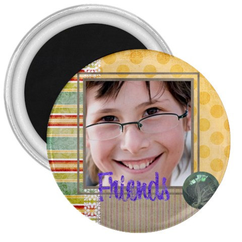 Kids By Kids   3  Magnet   Soi8yvoqgied   Www Artscow Com Front