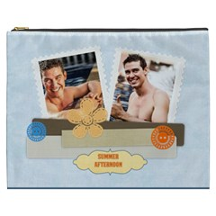 Summer By Summer Time    Cosmetic Bag (xxxl)   2fpl6pneu9w9   Www Artscow Com Front