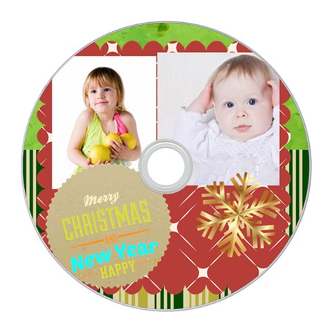 Merry Christmas By Betty   Cd Wall Clock   Jzvaa9y4s0yr   Www Artscow Com Front