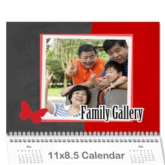 Family By Family   Wall Calendar 11  X 8 5  (12 Months)   4q45zsu554es   Www Artscow Com Cover