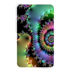 Satin Rainbow, Spiral Curves Through The Cosmos Memory Card Reader (rectangular) by DianeClancy