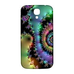 Satin Rainbow, Spiral Curves Through The Cosmos Samsung Galaxy S4 I9500/i9505  Hardshell Back Case by DianeClancy