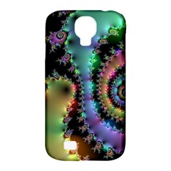 Satin Rainbow, Spiral Curves Through The Cosmos Samsung Galaxy S4 Classic Hardshell Case (pc+silicone) by DianeClancy