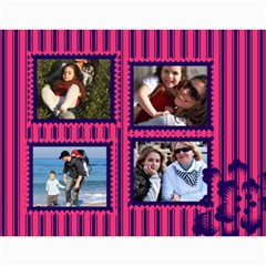 Family By Family   Wall Calendar 11  X 8 5  (12 Months)   Y03nmnaubopk   Www Artscow Com Month