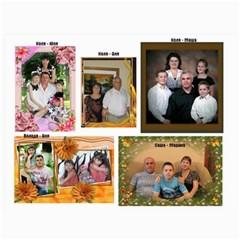 Big Family Calendar By Tania   Wall Calendar 11  X 8 5  (18 Months)   Qe1ihgoh5ps4   Www Artscow Com Nov 2014