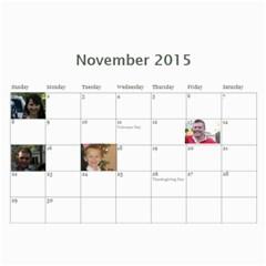Big Family Calendar By Tania   Wall Calendar 11  X 8 5  (18 Months)   Qe1ihgoh5ps4   Www Artscow Com Nov 2015