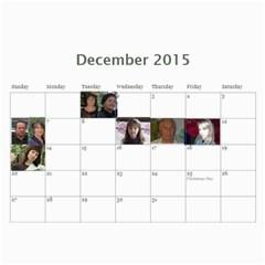 Big Family Calendar By Tania   Wall Calendar 11  X 8 5  (18 Months)   Qe1ihgoh5ps4   Www Artscow Com Dec 2015