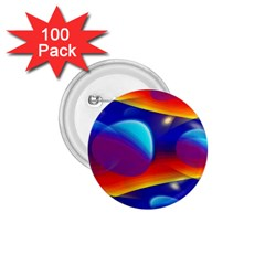 Planet Something 1 75  Button (100 Pack) by SaraThePixelPixie