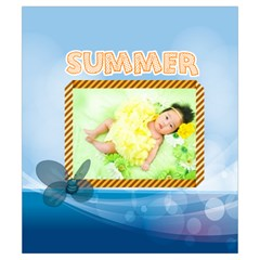 Summer By Summer Time    Drawstring Pouch (small)   W4rmpvxn0lmv   Www Artscow Com Front