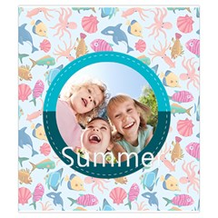 Summer By Summer Time    Drawstring Pouch (small)   Faz95f055k2d   Www Artscow Com Front