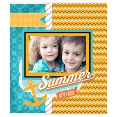 Summer By Summer Time    Drawstring Pouch (small)   Z585c2453zt1   Www Artscow Com Front