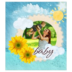 Summer By Summer Time    Drawstring Pouch (medium)   R3vdrs062h3z   Www Artscow Com Front