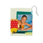 summer - Drawstring Pouch (Medium)