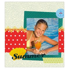 Summer By Summer Time    Drawstring Pouch (large)   Ak5r7ulyxdpk   Www Artscow Com Back