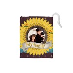family - Drawstring Pouch (Small)