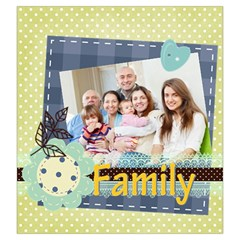 Family By Family   Drawstring Pouch (large)   To7q9yzrjme2   Www Artscow Com Front
