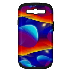 Planet Something Samsung Galaxy S Iii Hardshell Case (pc+silicone) by SaraThePixelPixie