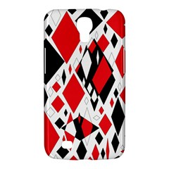Distorted Diamonds In Black & Red Samsung Galaxy Mega 6 3  I9200 Hardshell Case by StuffOrSomething