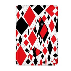 Distorted Diamonds In Black & Red Samsung Galaxy Tab 2 (10.1 ) P5100 Hardshell Case  by StuffOrSomething