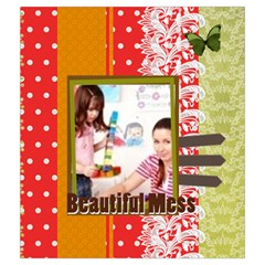 Kids By Kids   Drawstring Pouch (medium)   G0e2ohnz5vqf   Www Artscow Com Back