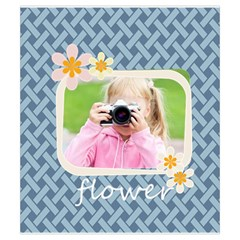 Flower By Joely   Drawstring Pouch (small)   Fgtlam497sx3   Www Artscow Com Front