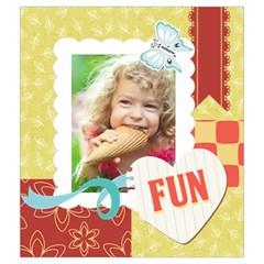 Kids, Play, Family, Fun, Happy, Nice By Kids   Drawstring Pouch (medium)   Tyozk3q03vbh   Www Artscow Com Back