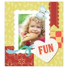 Kids, Play, Family, Fun, Happy, Nice By Kids   Drawstring Pouch (large)   Eg6yomc7aj3q   Www Artscow Com Back