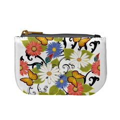 Floral Fantasy Coin Change Purse by R1111B