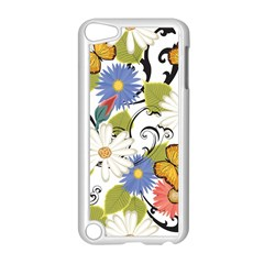 Floral Fantasy Apple iPod Touch 5 Case (White) by R1111B