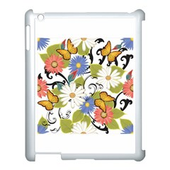 Floral Fantasy Apple Ipad 3/4 Case (white) by R1111B