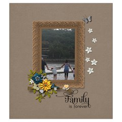 Drawstring Pouch (m): Family Is Forever By Jennyl   Drawstring Pouch (medium)   Tny4d8rtrdzj   Www Artscow Com Back