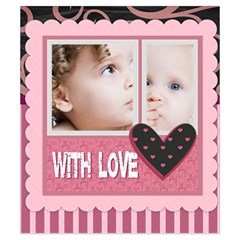 Sweet Love By Mac Book   Drawstring Pouch (small)   4qz16axqwda2   Www Artscow Com Front