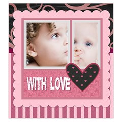 Sweet Love By Mac Book   Drawstring Pouch (large)   5cfim8m5m959   Www Artscow Com Front