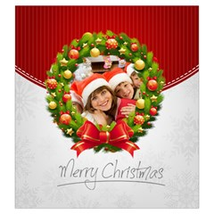 Merry Christmas By Mac Book   Drawstring Pouch (large)   Y0pvg1fc7z4p   Www Artscow Com Front