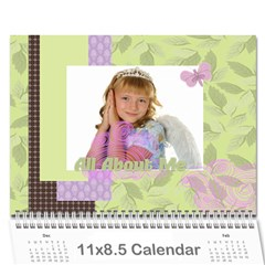 Kids By Kids   Wall Calendar 11  X 8 5  (12 Months)   C0iy41a6zlrf   Www Artscow Com Cover