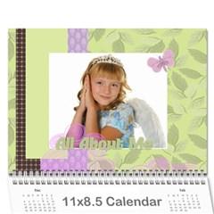 Kids By Kids   Wall Calendar 11  X 8 5  (18 Months)   B6h70u7gcyzb   Www Artscow Com Cover