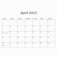 Kids By Kids   Wall Calendar 11  X 8 5  (18 Months)   B6h70u7gcyzb   Www Artscow Com Apr 2015