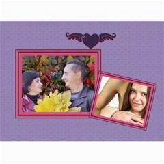 Love By Ki Ki   Wall Calendar 11  X 8 5  (12 Months)   B6j52i3sy8of   Www Artscow Com Month