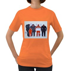 Neanderthal & 4 Big Friends, Women s T Shirt (colored)